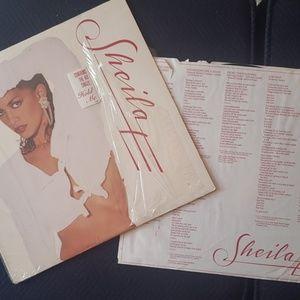 Shelia E 1987 LP vinyl record featuring hold me